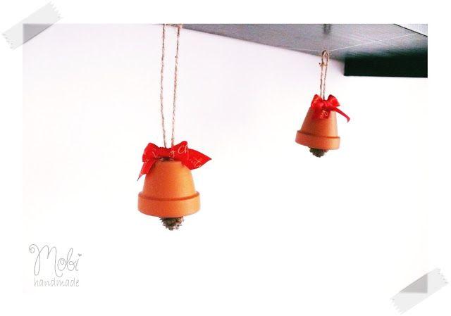 Dzwonki Z Doniczek Girlanda Boże Narodzenie