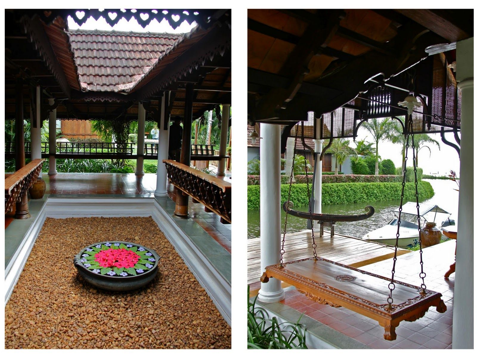 Perfect kerala courtyard traditional homes always kept Homes with inner courtyards