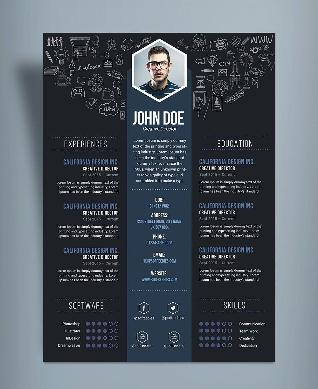 branding_acura : I will design professional resume,cover letter template for $20 on fiverr.com