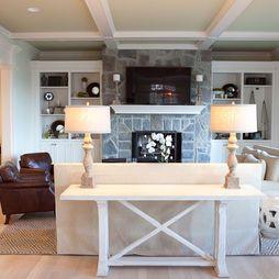 Family Room - traditional - family room - portland - Jenny Baines, Jennifer Baines Interiors