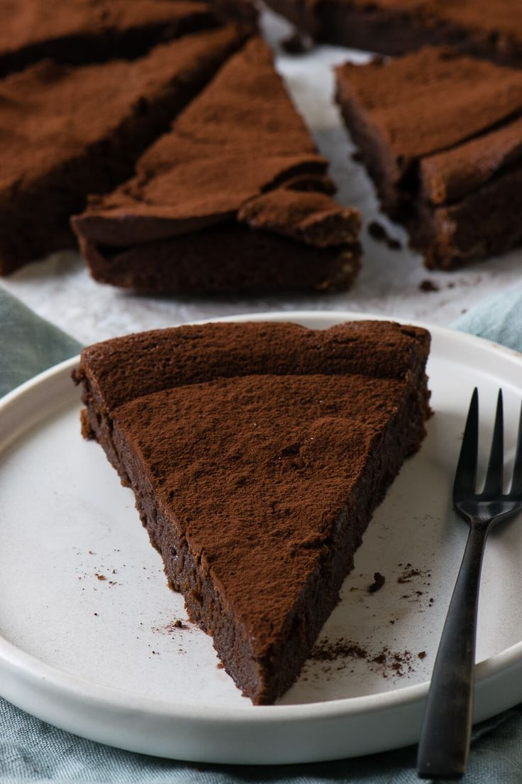 Photo of French chocolate tart – creamy, chocolatey and super delicious