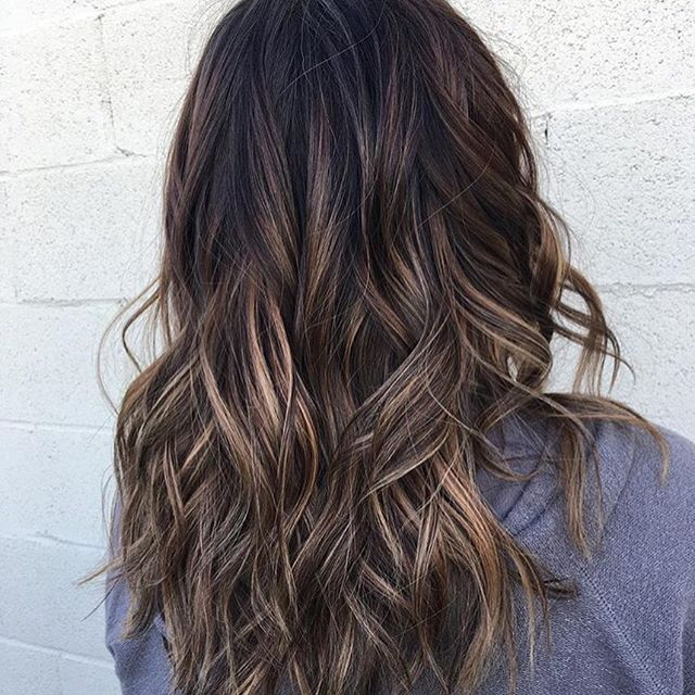Sunkissed Brunette Babylights Color By Carlajean Mass