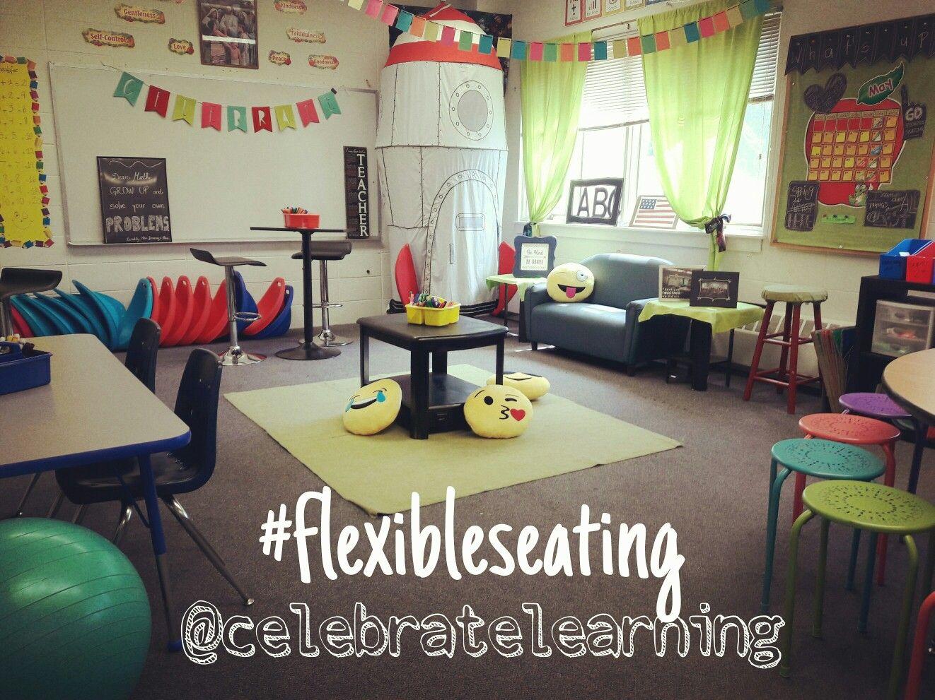 Kindergarten classroom table - Flexible Seating In The Classroom Happy Classrooms Alternative Seating In The Classroom