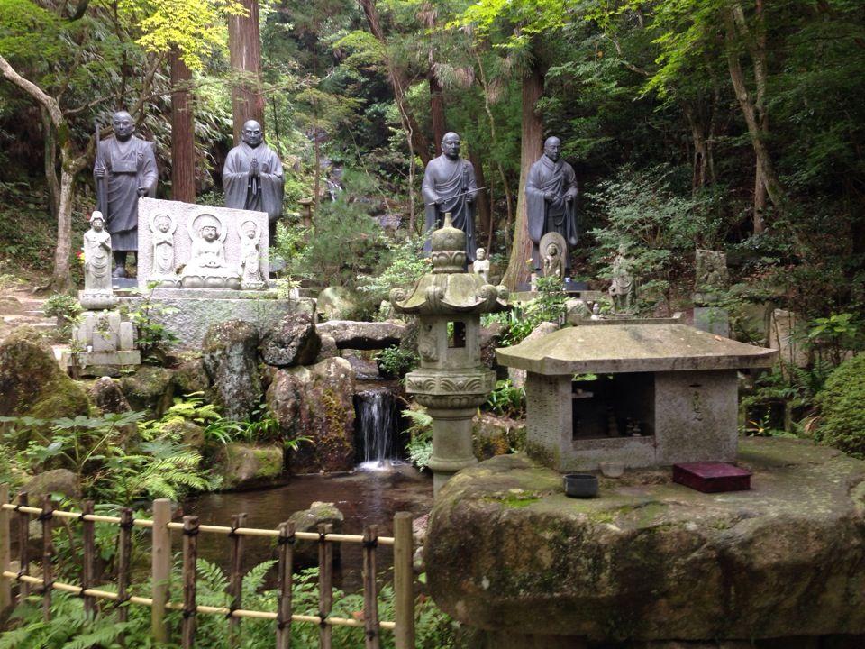 Mitaki, templo a las afueras de hiroshima con cascadas, jardines