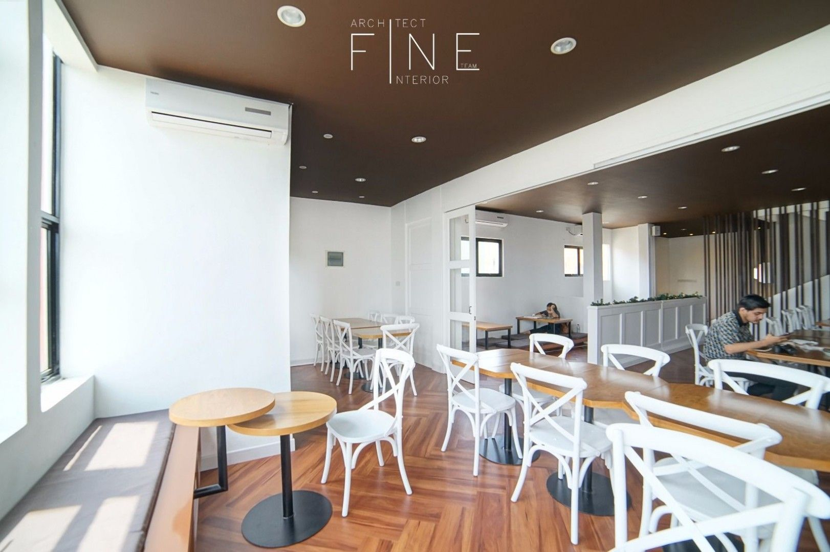 Contemporary Modern Dining Area Kakaolait Gading
