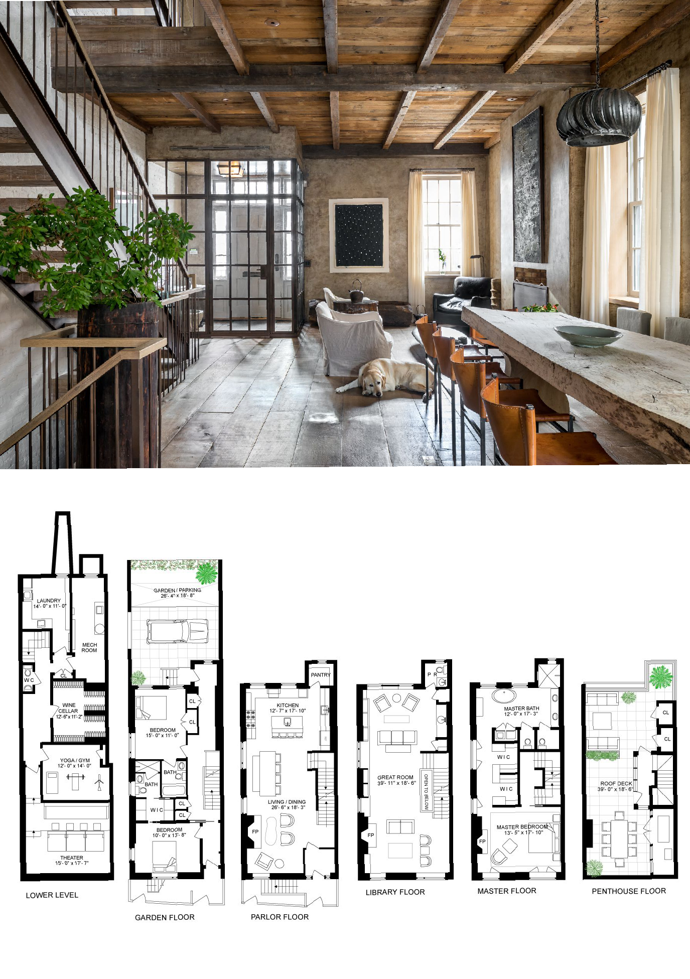 West Village Townhouse With Wabi Sabi Interiors Seeks 25m Townhouse Designs Large Family House Plan Artist House