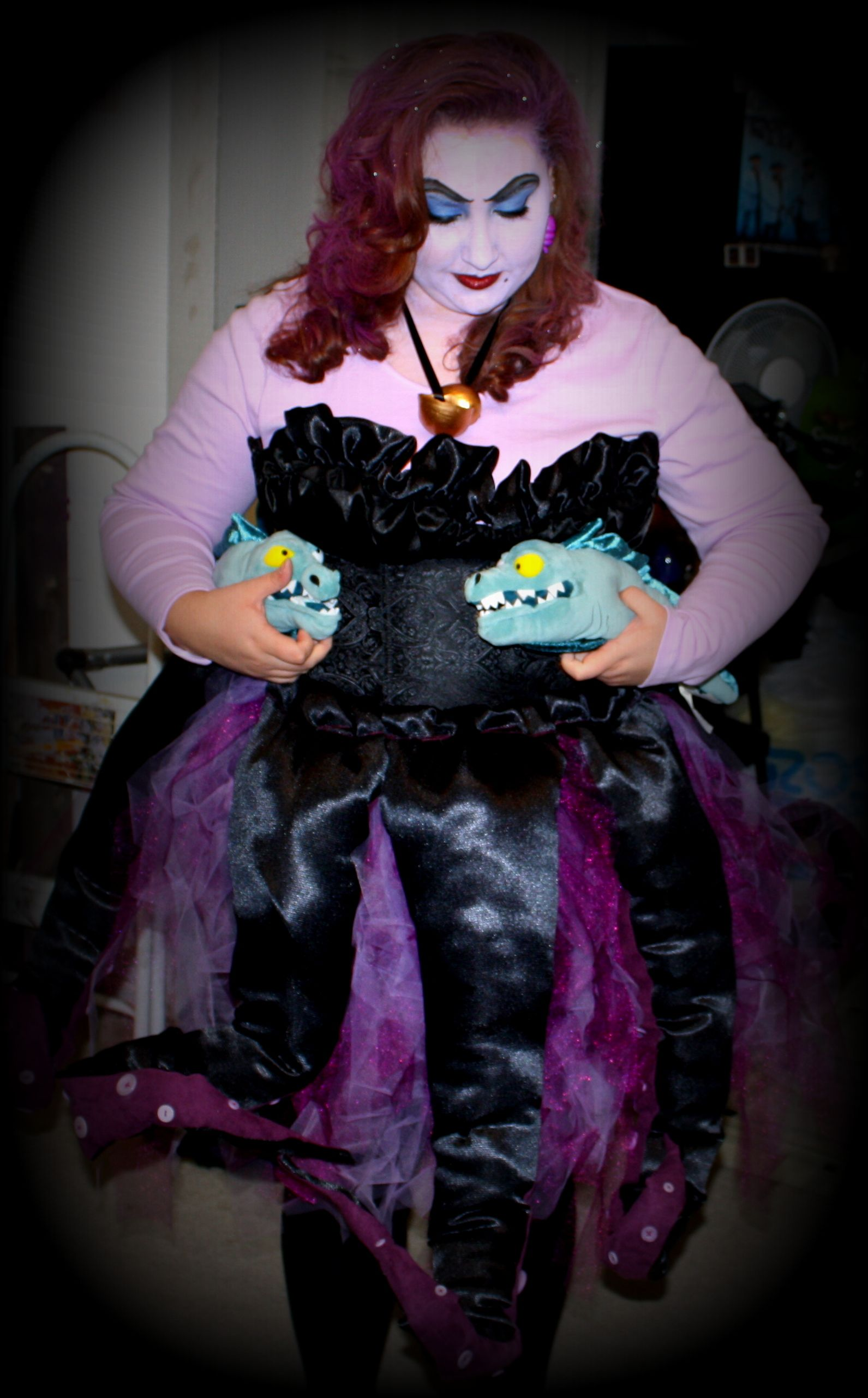 Ursula the Sea Witch Halloween Costume. This is the costume I made ...