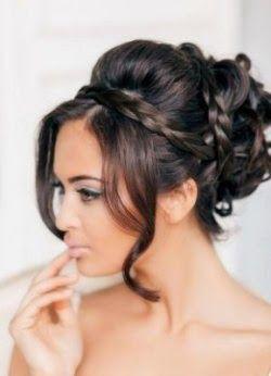 Peinados De Novia1 Jpg 250 346 Estilos De Peinado Para Boda Peinados Elegantes Peinados Con Trenzas