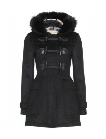 c387a092b23b Burberry Brit - Wool duffle coat - mytheresa.com GmbH | Burberry ...