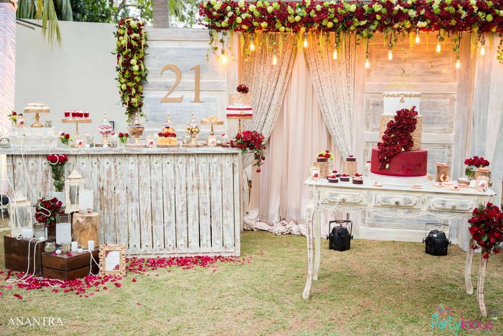 Check Out This Gorgeous 21st Birthday Party Everything About It Is Beautiful See More Par 21st Birthday Party Planning Birthday Party 21 Birthday Party Venues