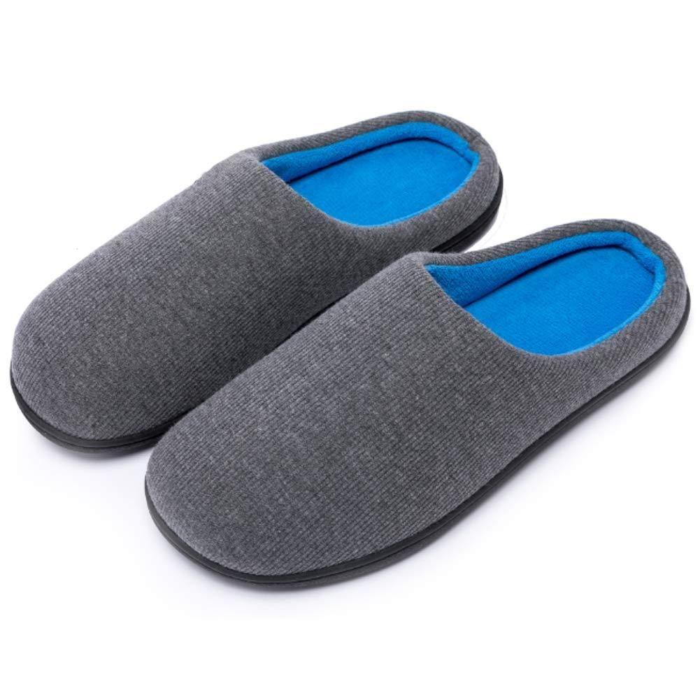7ead764ed2fab Kuzima Men's and Women's Memory Foam Slippers Indoor Outdoor Anti ...