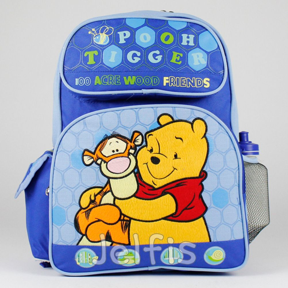43dfca5c2ddf Jelfis.com - 16  Large Disney Winnie the Pooh Backpack - Tigger Friends Boys
