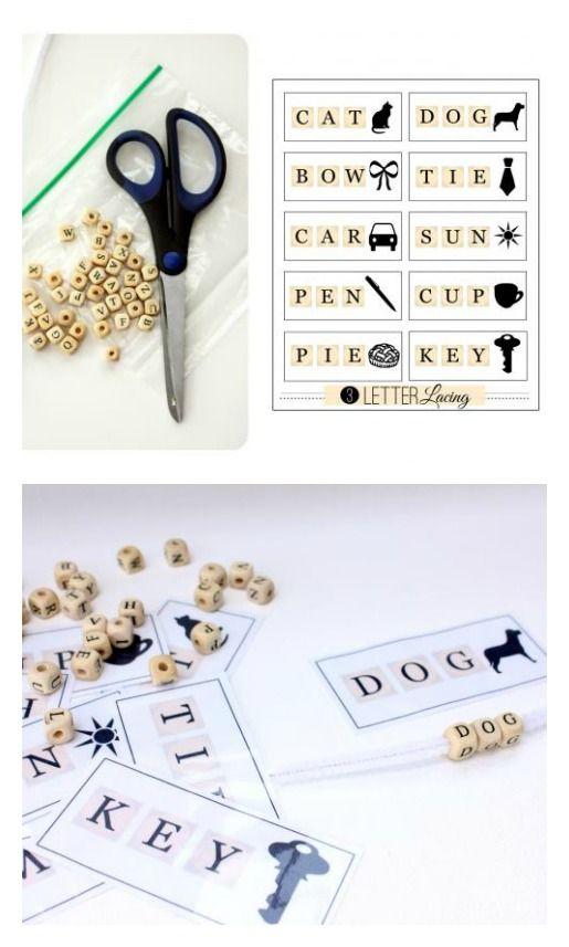 3 Letter Words For Pre K.Pre K Spelling Practice Spelling 3 Letter Words Hand Eye