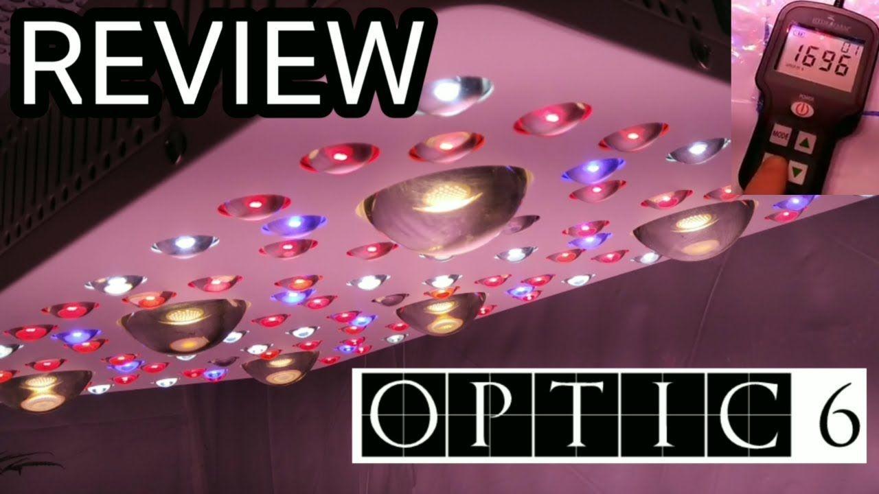 OPTIC LED OPTIC 6 LED GROW LIGHT REVIEW u0026 PAR PREVIEW & OPTIC LED OPTIC 6 LED GROW LIGHT REVIEW u0026 PAR PREVIEW   Grow Tent ...