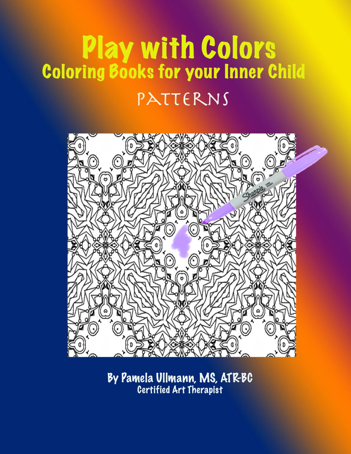 PDF Digital Download Patterns Coloring Book For Adults Play With Color