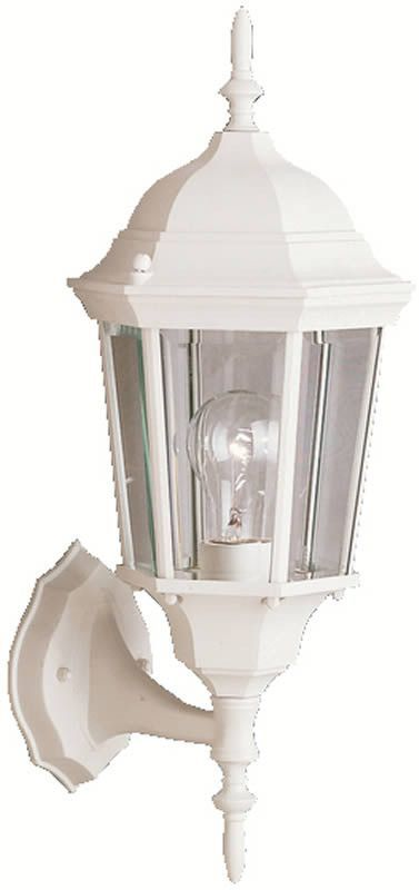"0-007411>20""""h Madison 1-Light Outdoor White"