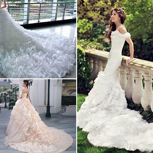 Wedding Dress Trains