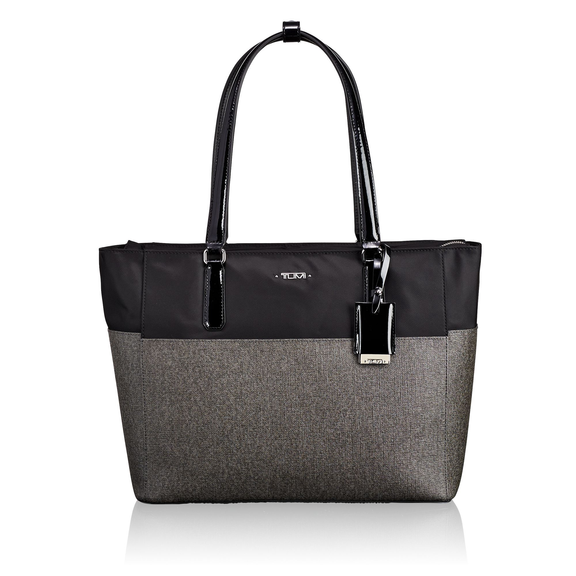 e7ef395971 TUMI Carolina Tote - Earl Grey Black.  tumi  bags  canvas  tote  leather   shoulder bags  hand bags  nylon