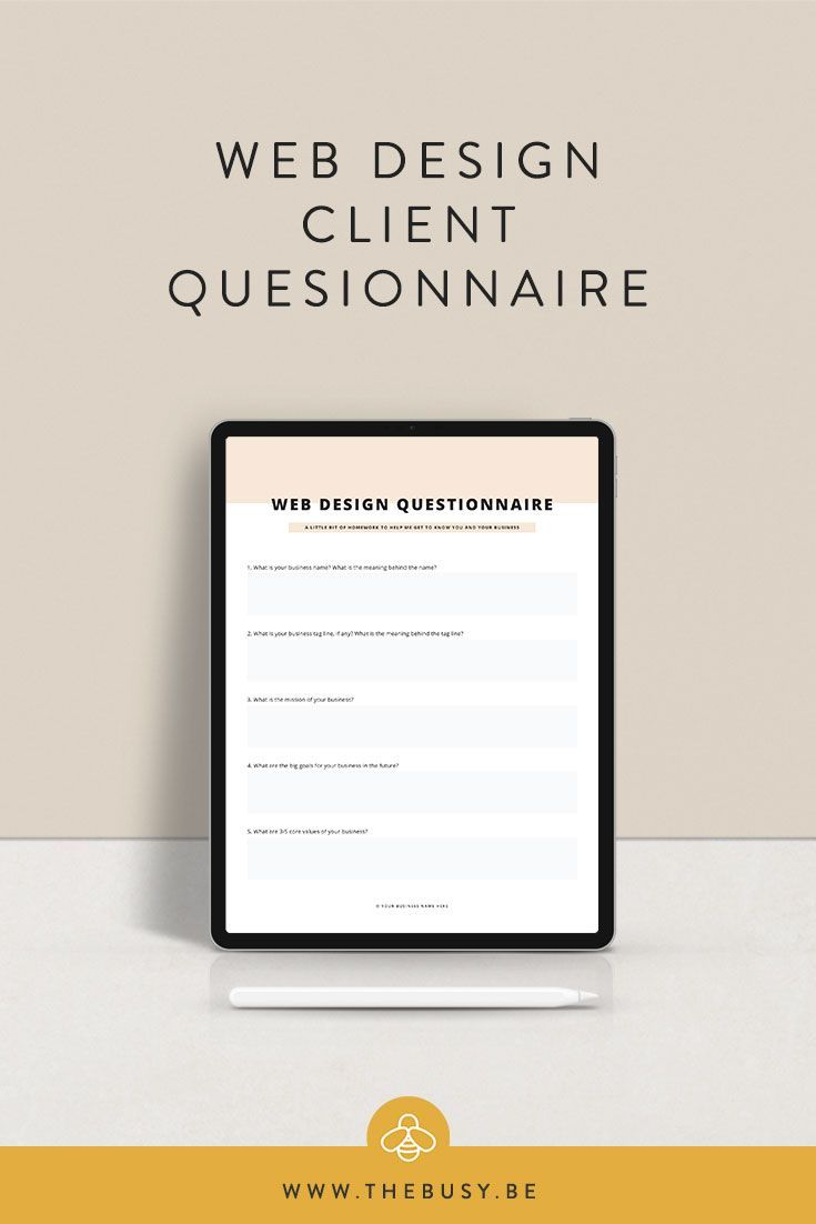 Client Questionnaire The Busy Bee What Is Fashion Design First Fashion Design Is A Concept That Can Be Widely Used En 2020 Diseno Web Tipografia Disenos De Unas
