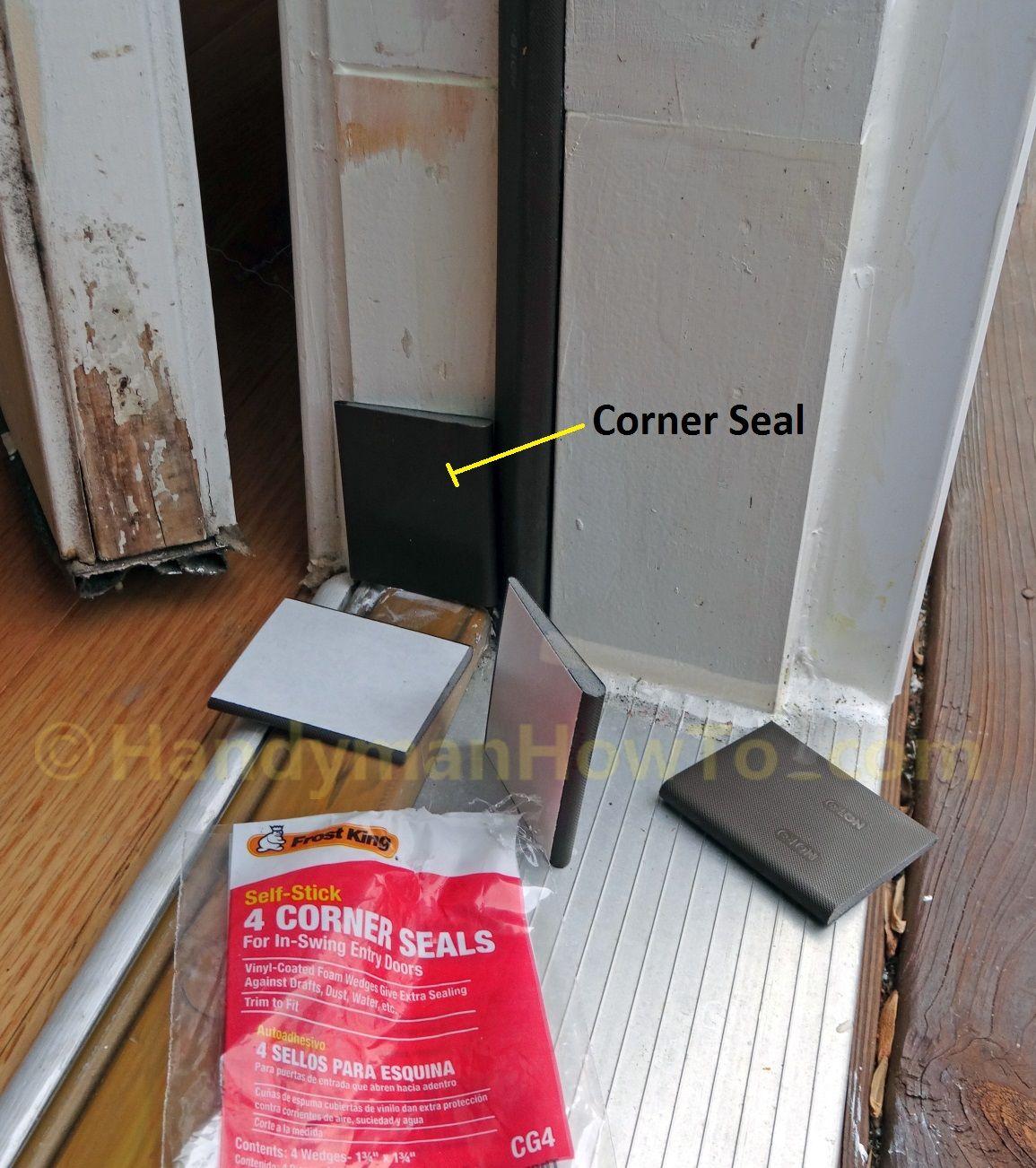 Exterior door frame corner seal tn home in 2019 - Repairing wood rot on exterior door ...