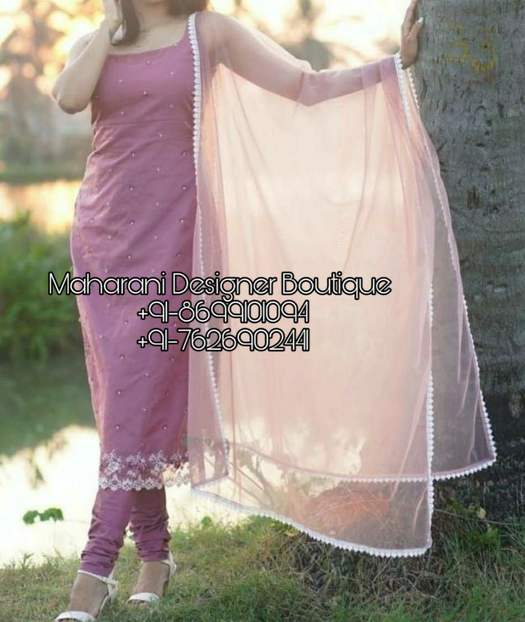 Punjabi Pajami Suit | Pajami Suits | Maharani Designer Boutique