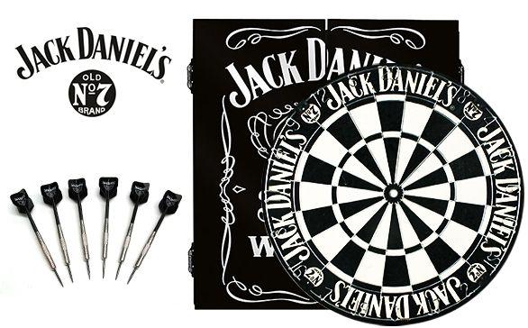Jack Daniel S Dart Board And Cabinet Set Official Licensed Jack Daniels Dart Board Jack