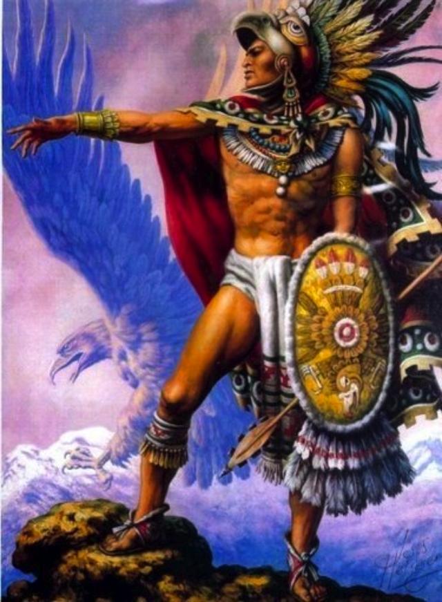 Jesus Helgueracaballero Aguila Azteca Mexico En La Piel