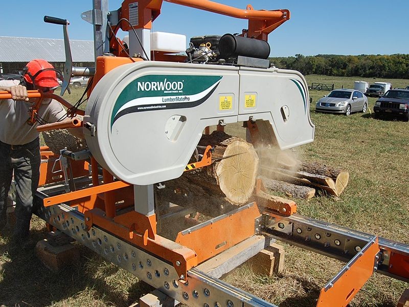 How to make money with a portable sawmill real world