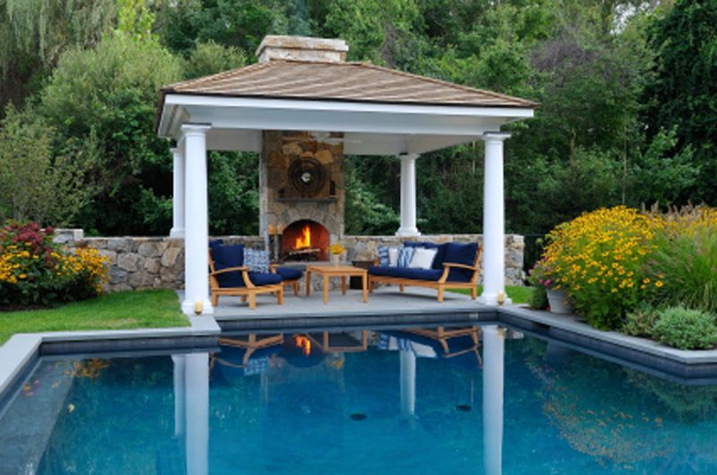 Outdoor Fire Pool Google Search Pool House Designs Pool