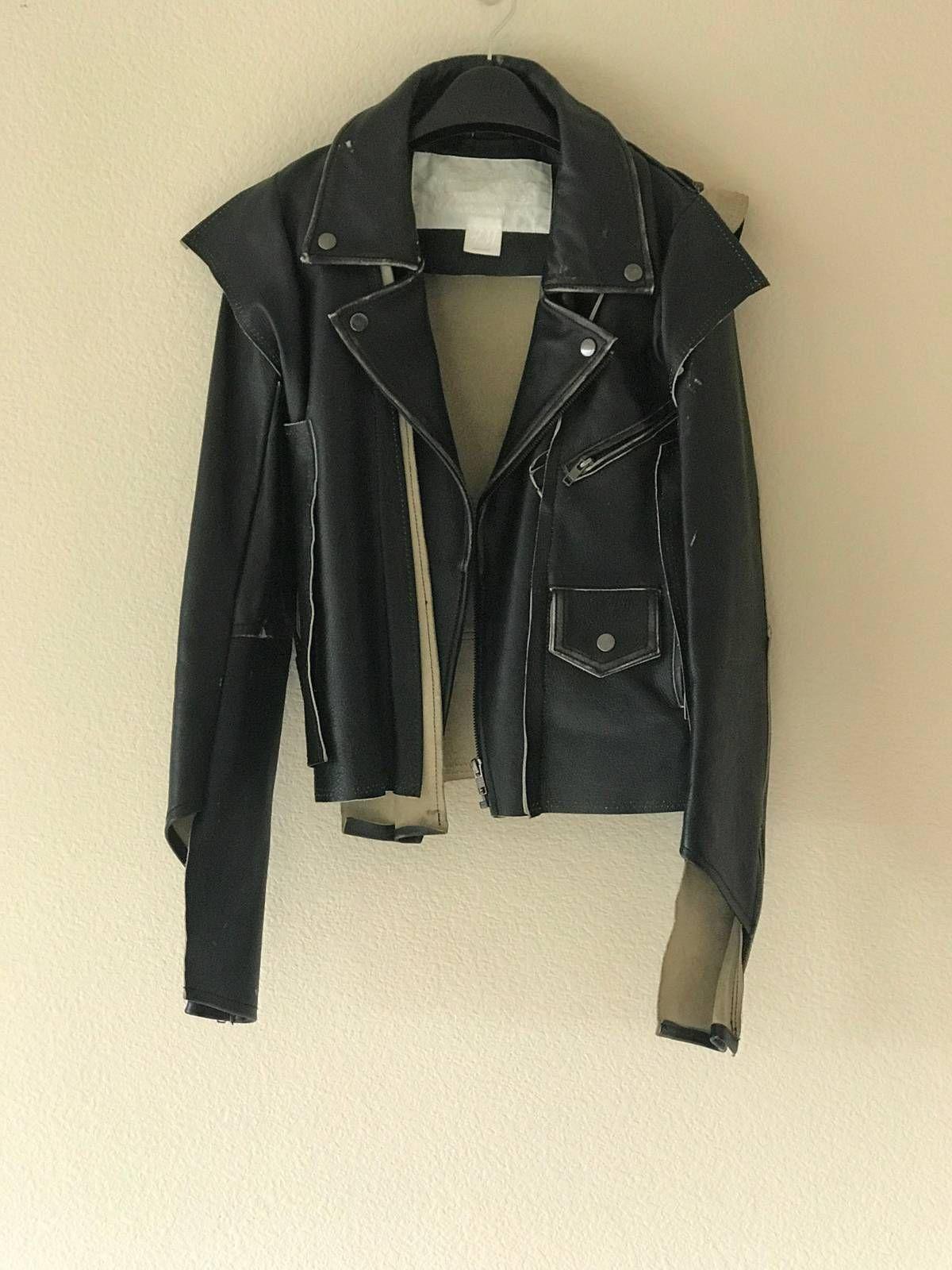 Buy Maison Martin Margiela RARE Maison Margiela x H&M Deconstructed Biker  Jacket (Small),