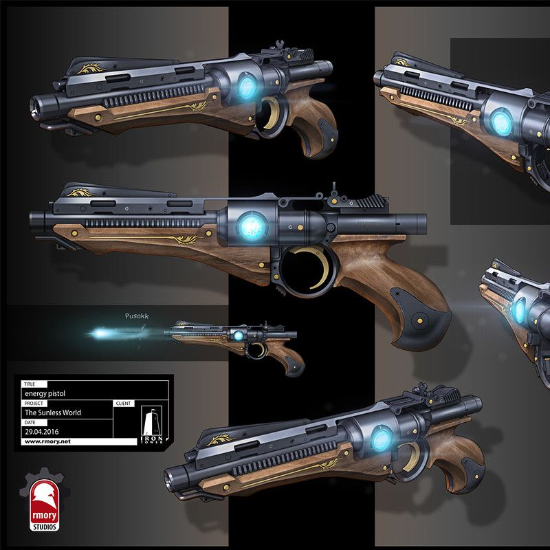 22+ Energy pistol information