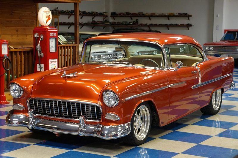 1955 Chevrolet Bel Air Dupont Copper Chevroletclassiccars