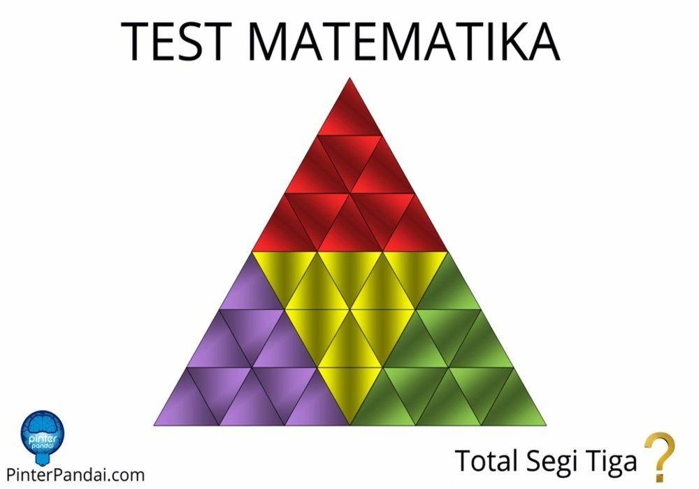 Tes Matematika Menghitung Jumlah Segi Tiga Beserta Rumus Rumus Matematika Belajar