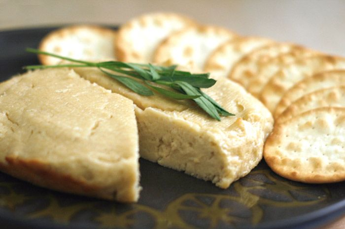 This Baked Cashew Cheese Is Amazing Serve It Up With Some Simple Crackers Bread Maybe A Little Fruit Vegan Cheese Recipes Cashew Cheese Recipe Vegan Cheese