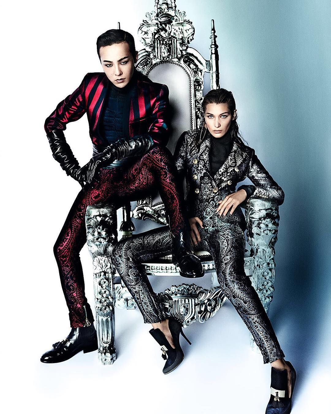 #GD #GDragon Vogue China August 2016 Issue