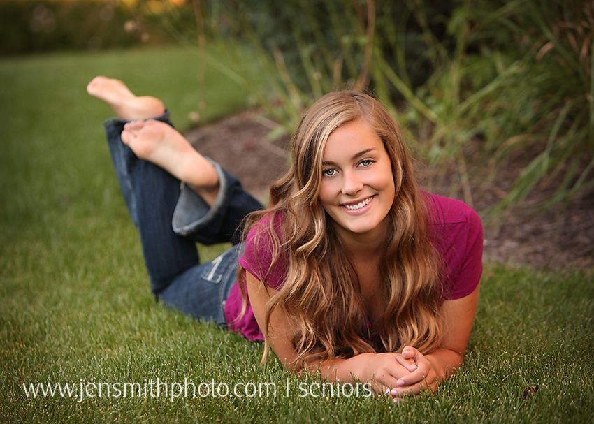 from Jayceon girl barefoot senior portrait