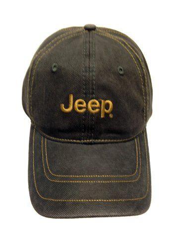 717dd24f Jeep Hat w/Yellow Jeep Stitched Logo   Jeep Shirts & Hats   Jeep ...