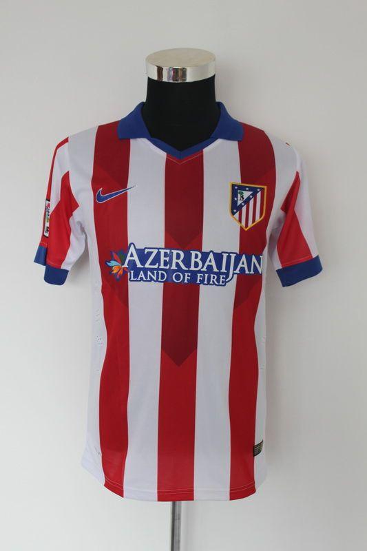 pretty nice b7a05 e8004 Atletico Madrid 14-15 Home Cheap Soccer Uniform | 14-15 ...