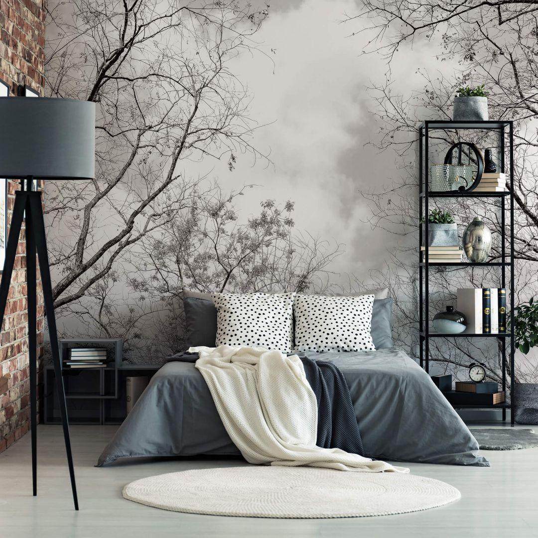 Fototapete Baumkronen Im Himmel Wall Art De Fototapete Schlafzimmer Innenarchitektur Schlafzimmer Fototapete
