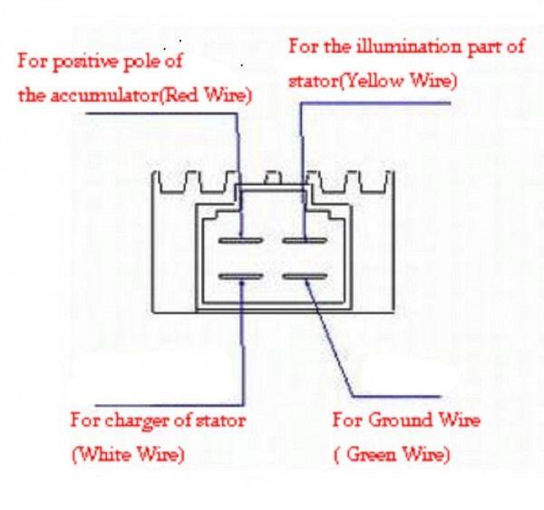 35 4 Pin Regulator Rectifier Wiring Diagram
