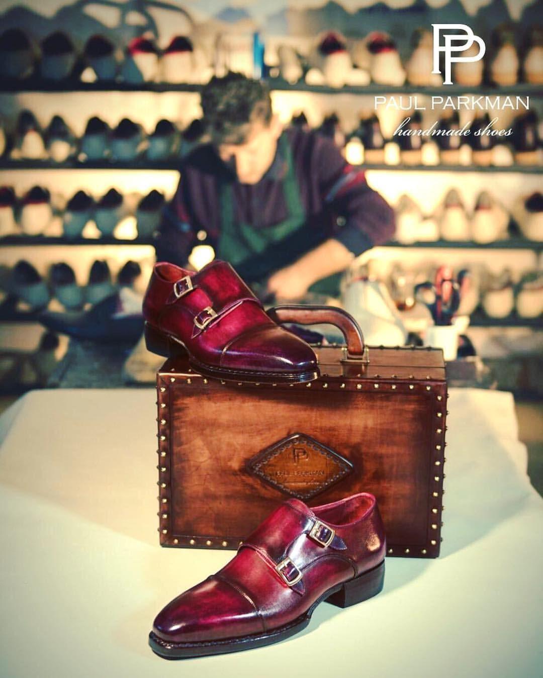 Paul Parkman Triple Leather Sole Hand-Welted Cap Toe Monkstraps Website : www.paulparkman.com #paulparkman #paulparkmanshoes #handmade #bespoke #luxury #shoemaker #handcrafted #shoesformen #mensshoes #handmadeshoes #handcraftedshoes #patinashoes...