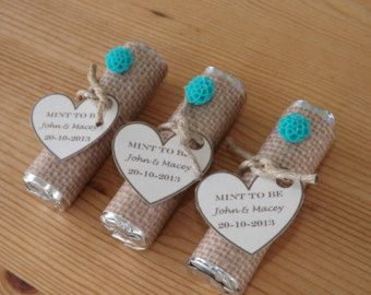 Mint to be favors wedding bridal shower favors personalized mint bridal shower favors solutioingenieria Images