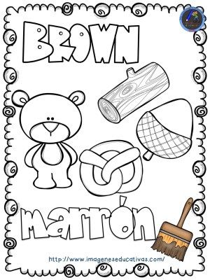 Mi libro de los colores para colorear | Preschool color | Pinterest ...