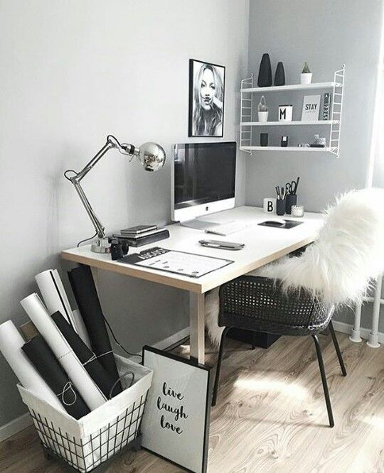 Pin by Fatima on Homes | Pinterest | Bureau, Maison and Deco bureau