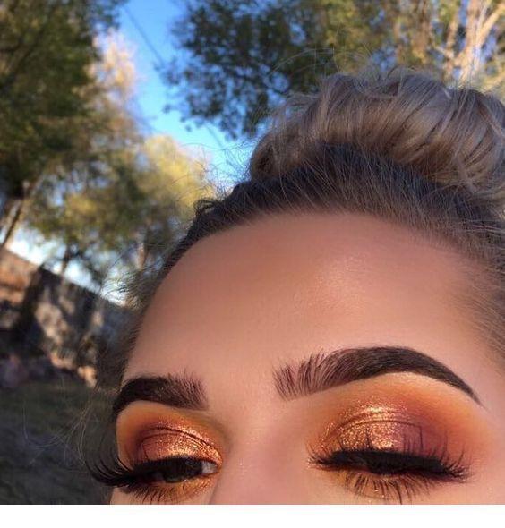 Photo of Beautiful bronze eye make-up – beautiful bronze eye make-up – Miladies.net …