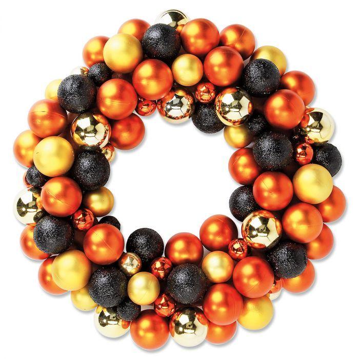 Halloween Ornament Wreath Holidays- Halloween Pinterest
