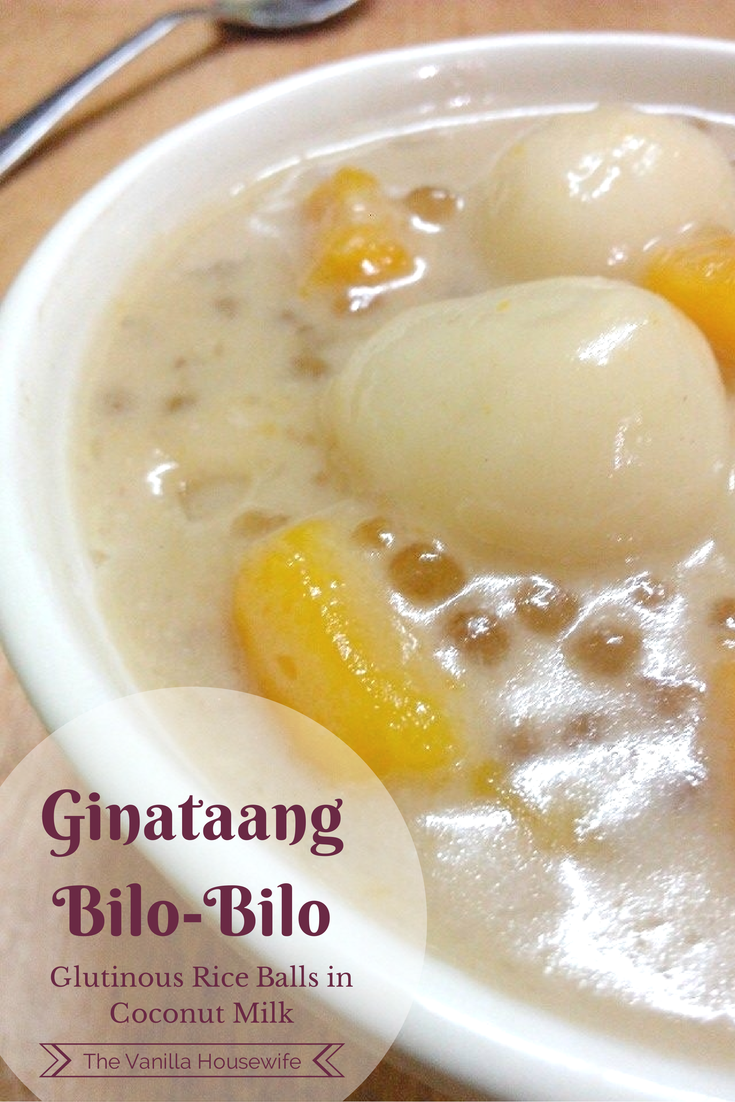How To Make Ginataang Bilo Bilo (sticky Rice Balls In Coconut Milk) #dessert