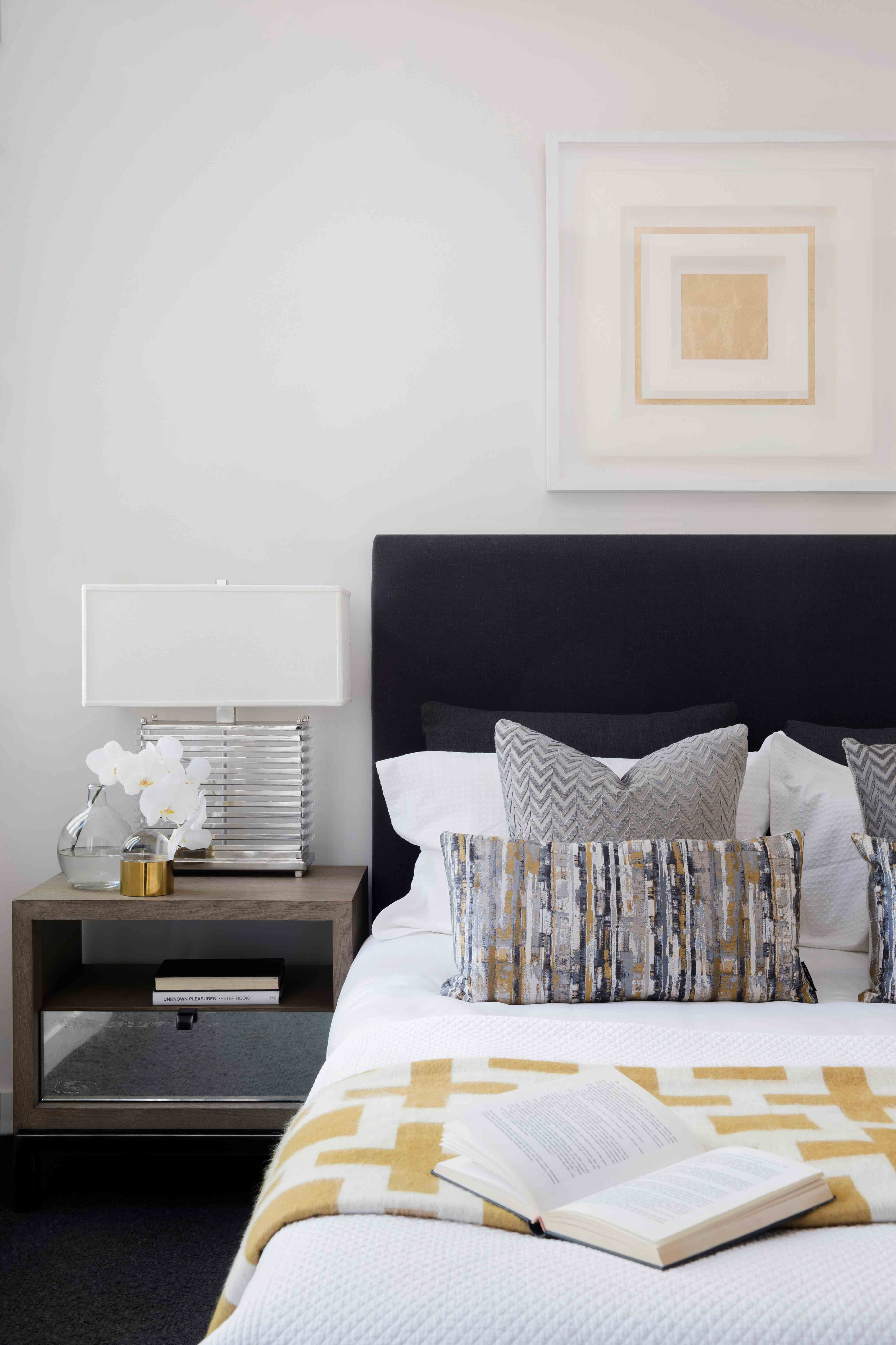 Master bedroom lighting  Add instant ambience to your master suite with table lighting