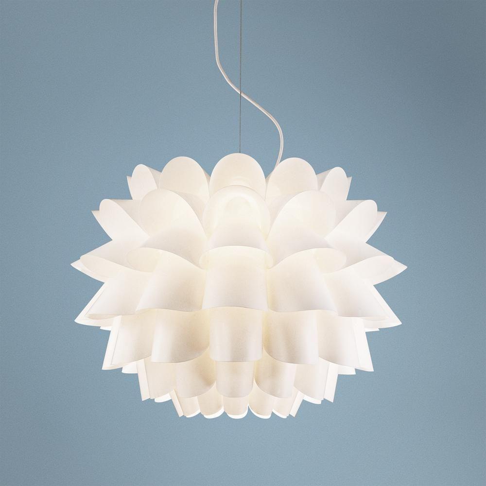 Possini euro design white flower pendant chandelier style 02475 possini euro design white flower pendant chandelier style 02475 arubaitofo Choice Image