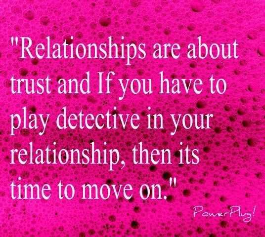 Trust Love Quotes For Relationships